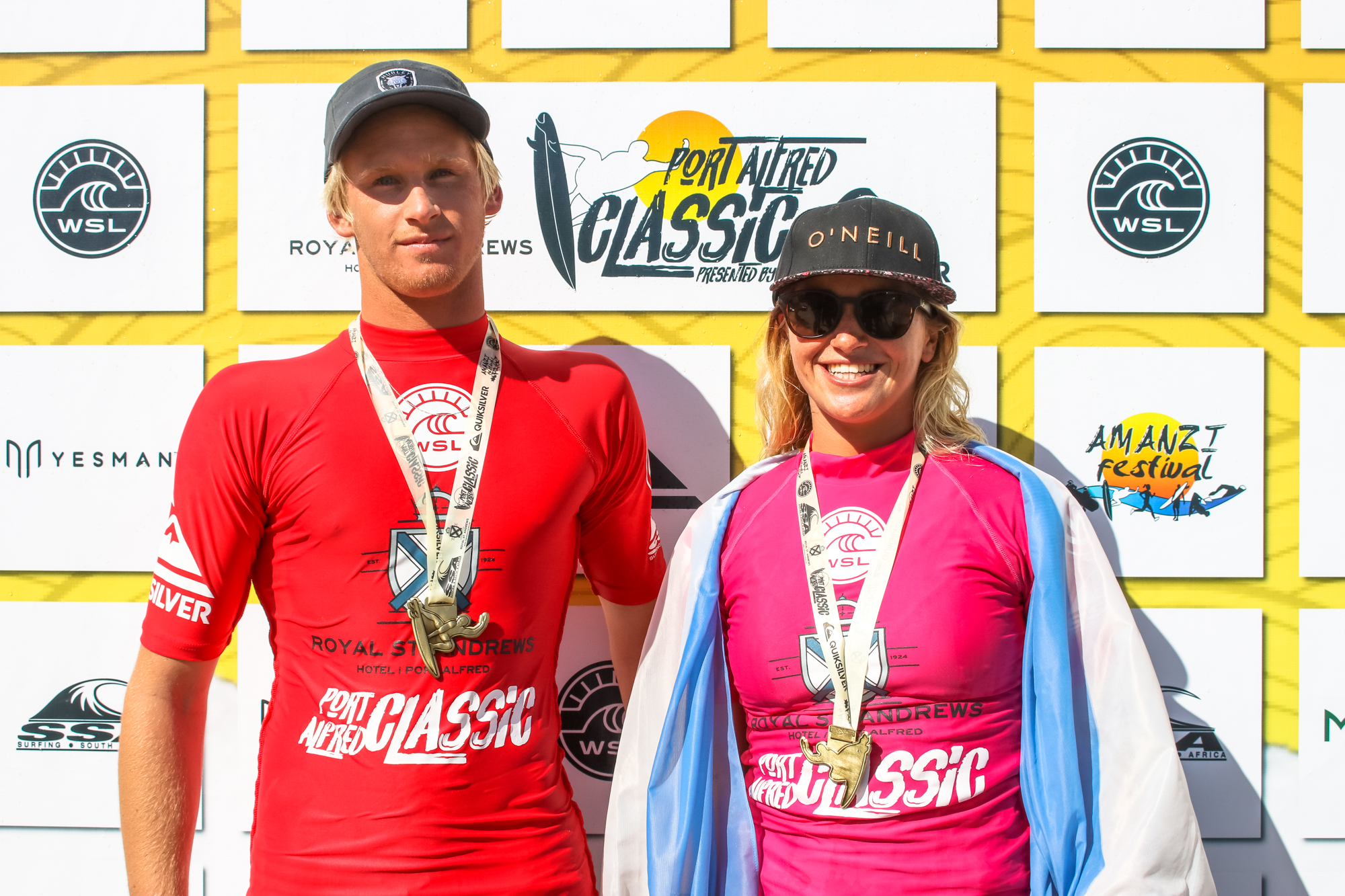 WSL Mens and Womens Winners